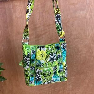 Vera Bradley hipster limes up purse
